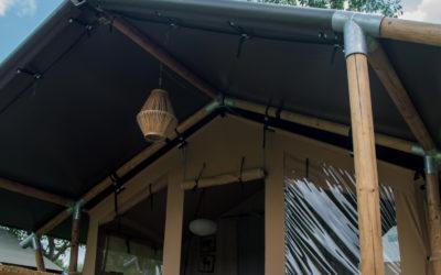Les tentes lodges disponibles à la réservation