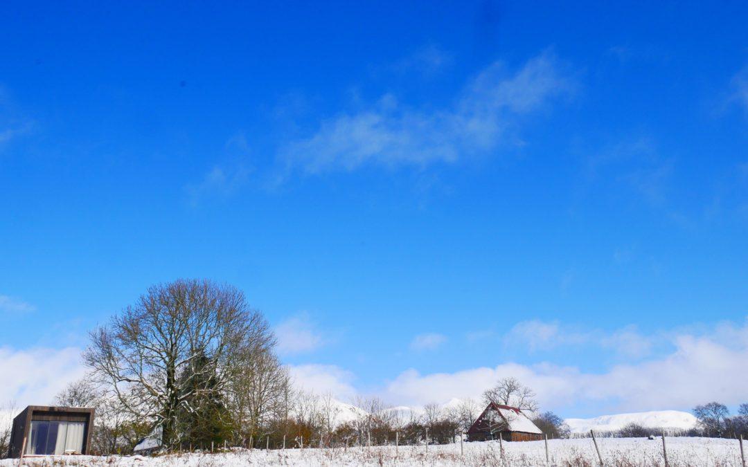 Premières neiges !